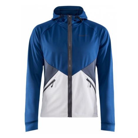 Pánská bunda CRAFT Glide Hood tm. modrá