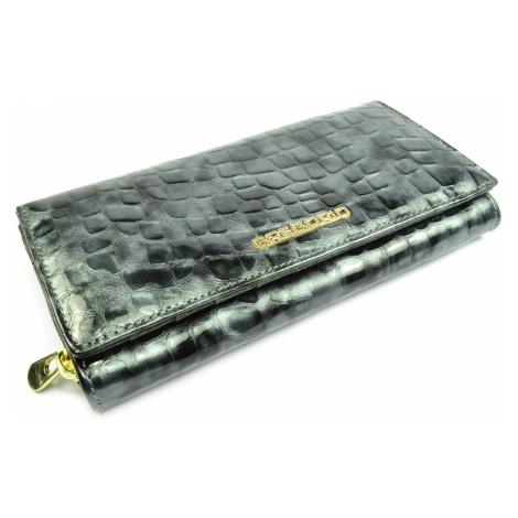 Kožená dámská peněženka s ornamenty GREGORIO