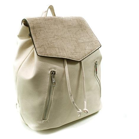 Béžový elegantní batoh Renee New Berry