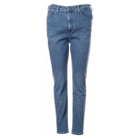 Lee jeans Super High Scarlett Mid Evita dámské modré