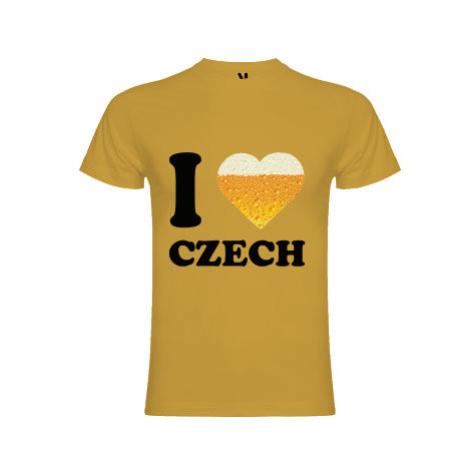 Pánské tričko Premium I love czech beer