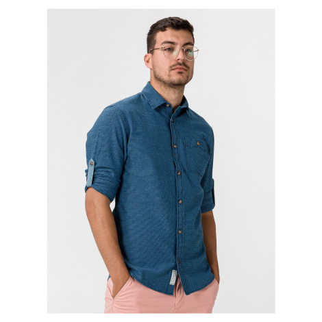 Blue Aston Košile Jack & Jones Modrá