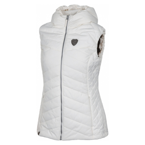 HANNAH HADID Dámská zimní vesta 10007334HHX01 Bright white