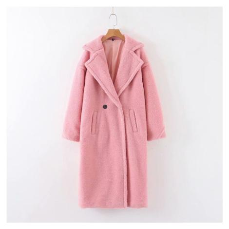 Dámský chlupatý kabát FashionEU