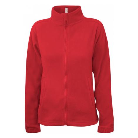 Dámská fleece JA - Červená