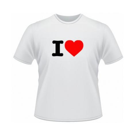 Pánské tričko SuperStar I love
