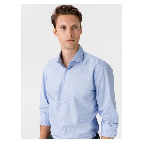 Gordon Košile BOSS Modrá Hugo Boss