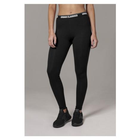 Legíny Urban Classics Ladies Logo Leggings