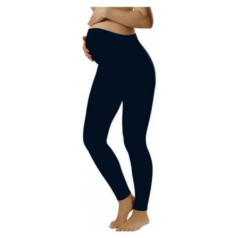 Dámské těhotenské legíny Italian Fashion Leggins long modré | tmavě modrá