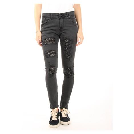 Pepe Jeans dámské černé džíny