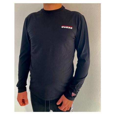 Pánské triko Guess UBA52 černé | černá