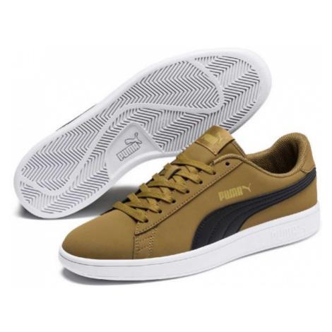Puma SMASH V2 BUCK zelená - Pánské boty pro volný čas