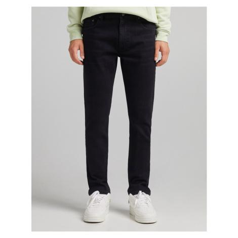 Bershka slim jeans in black