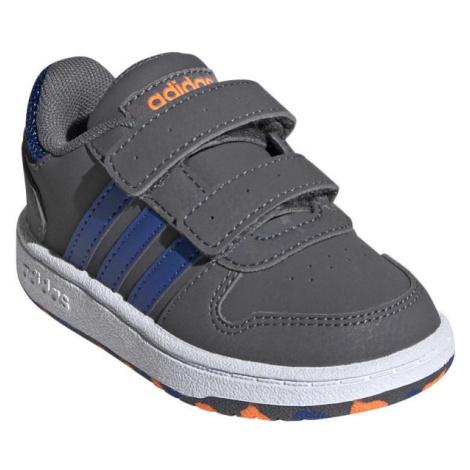 adidas HOOPS 2.0 CMF I modrá - Dětské volnočasové tenisky