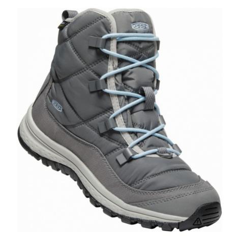 KEEN TERRADORA ANKLE WP W Dámská zimní obuv 10008827KEN01 steel grey/paloma