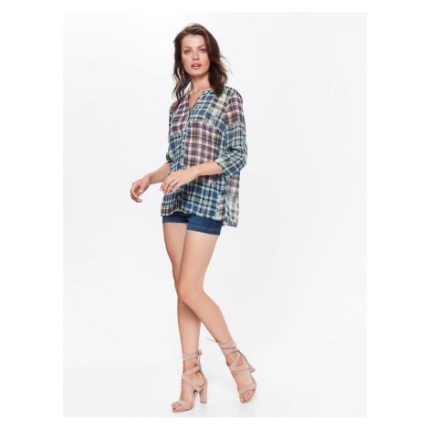 Top Secret Košile dámská kostkovaná s dlouhým rukávem