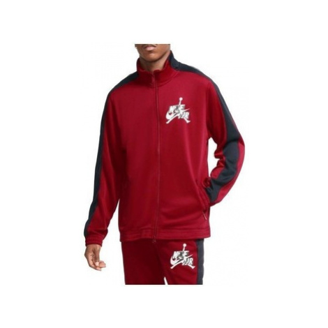 Nike Air Jordan Jumpman Classics Trickot Warmup Jacket Červená
