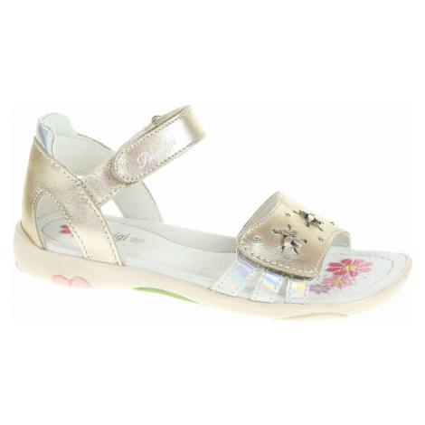 Primigi Dívčí sandály 1427600 platino Zlatá