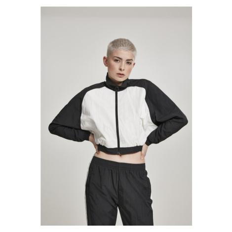 Ladies Short Raglan Crinkle Batwing Jacket Urban Classics