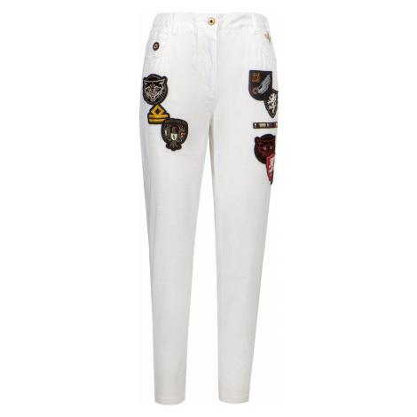 Kalhoty AERONAUTICA MILITARE bílá