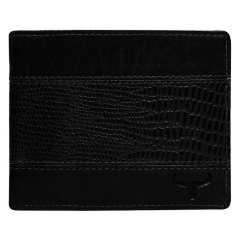 Pánská kožená peněženka Buffalo Wild Original, černá