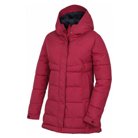 Husky Nilit L dámský hardshell plněný kabátek Barva: purpurová