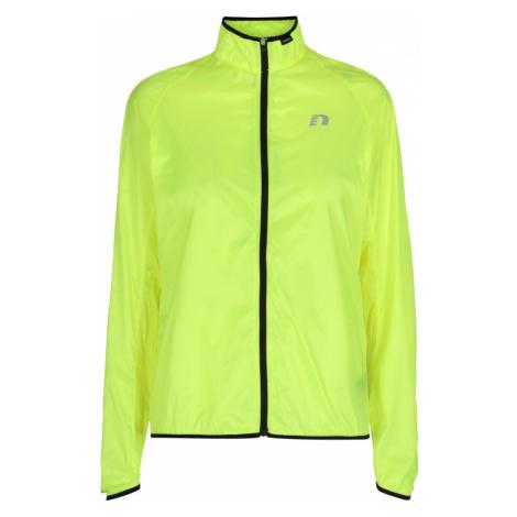 NEWLINE Windpack JKT Dámská běžecká bunda 13177-090 neonově žlutá