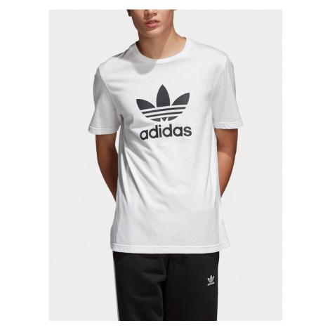 Trefoil Triko adidas Originals Bílá