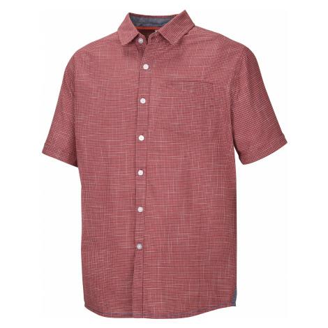 Husky Grimy M, tm. červená Pánská košile