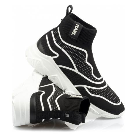 Tenisky Karl Lagerfeld Verge Guardo Mid Sock - Černá