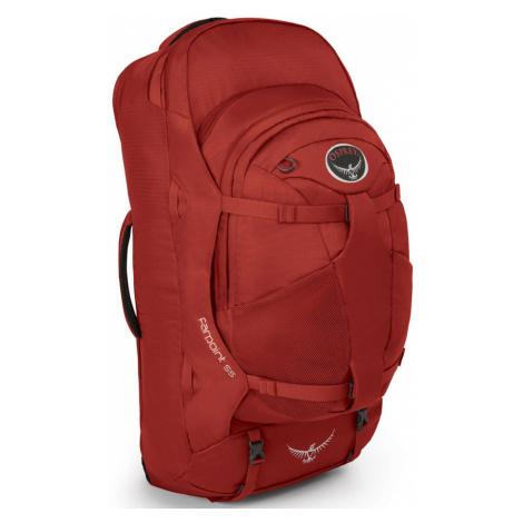 OSPREY Farpoint 55 Cestovní taška 2v1 OSP2106032902 Jasper Red