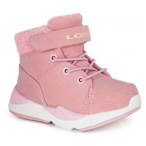 Loap JIMMA růžová - Dětská zimní obuv