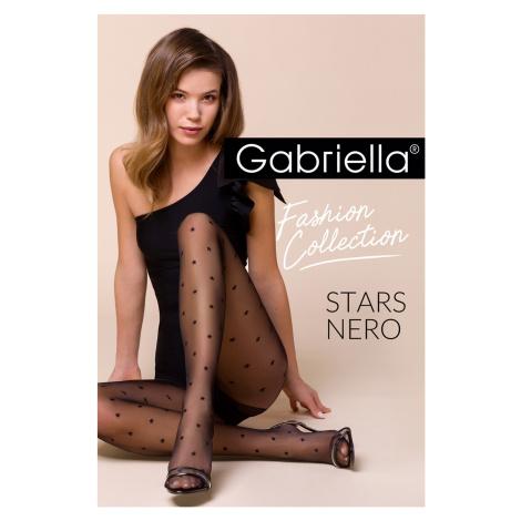 Dámské punčochové kalhoty Gabriella Stars code 457 5-xl