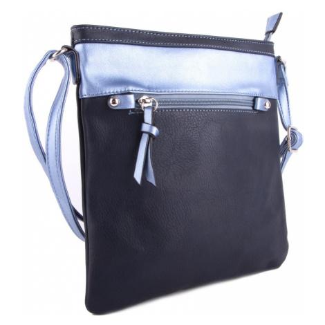 Tmavě modrá moderní dámská crossbody kabelka Jistien Tapple