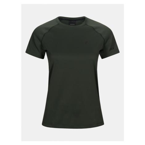 Tričko Peak Performance W Proco2 Short Sleeve - Zelená
