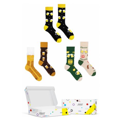 Set veselých ponožek Frogies Box