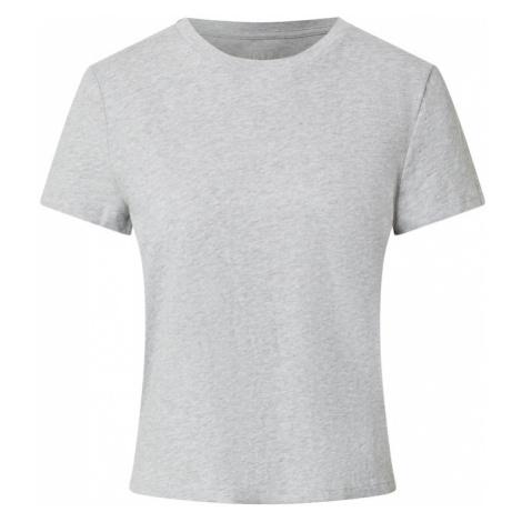 GAP Tričko 'SHRUNKEN' světle šedá