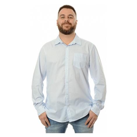 Košile Pioneer pánská bílo-modrá