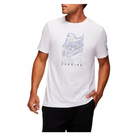Pánské tričko Asics Running GPX Tee bílé,