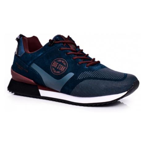 Pánská Sportovní Obuv Sneakersy Big Star Zelené GG174549