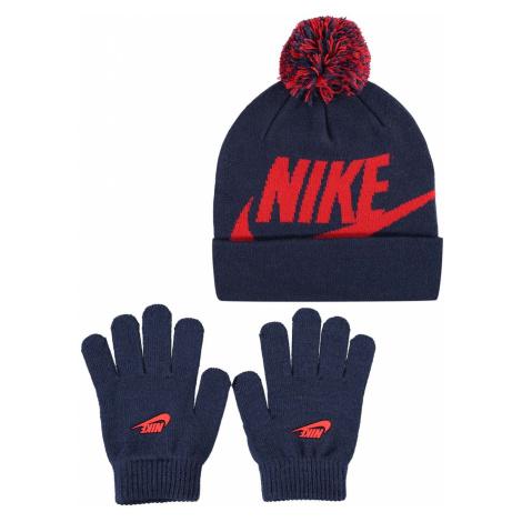 Nike Pom Pom Hat and Glove Set