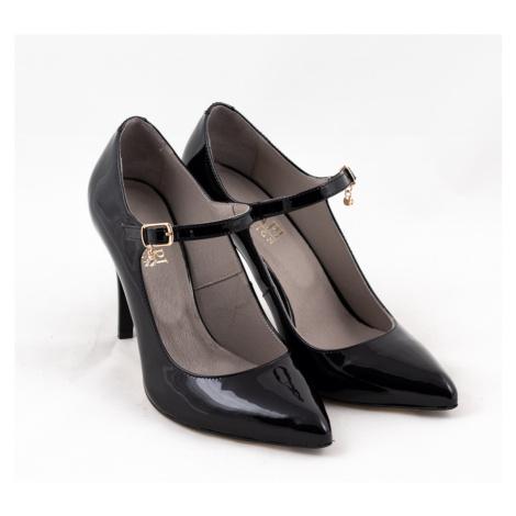 Lodička módní 2553 černá