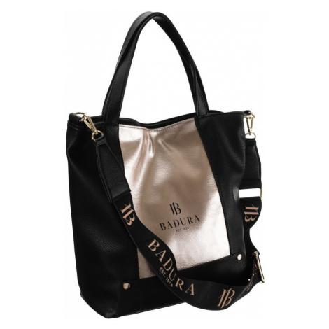 Velká nákupní taška shopper kabelka přes rameno s dlouhým popruhem Badura
