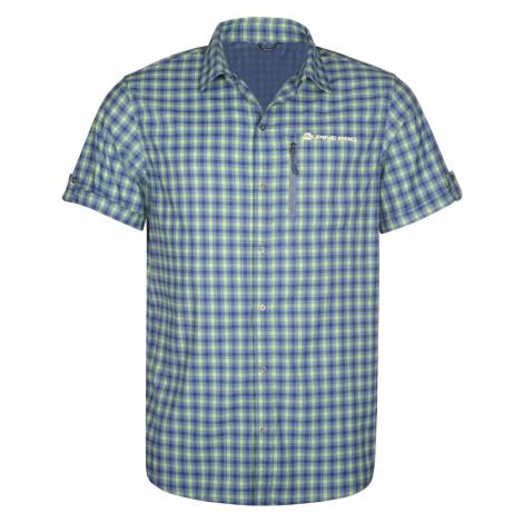 Pánská košile Alpine Pro LURIN 4 - modro-šedá