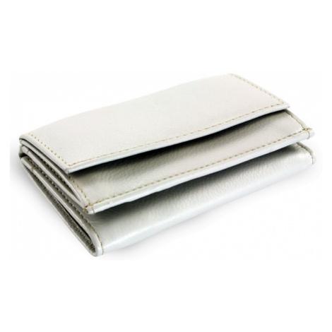 Šedá kožená dámská menší peněženka Athena Arwel
