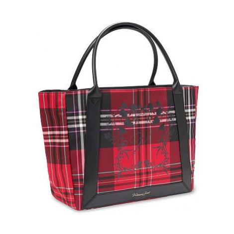 Victorias Secret stylová károvaná taška Plaid Shopper Bag Victoria's Secret