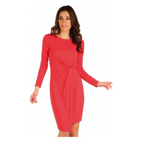 Dámské lososové šaty Litex 7A158   růžová