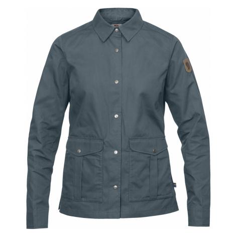 Dámská košile FJÄLLRÄVEN Greenland Shirt Jacket W, Dusk Fjällräven