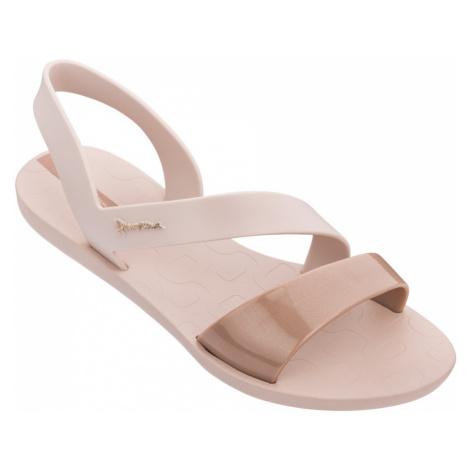 Ipanema pudrové sandály Vibe Sandal Pink/Pink Metallic