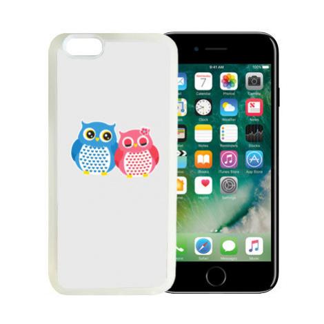 iPhone 7/8 kryt gumový soft Sovičky